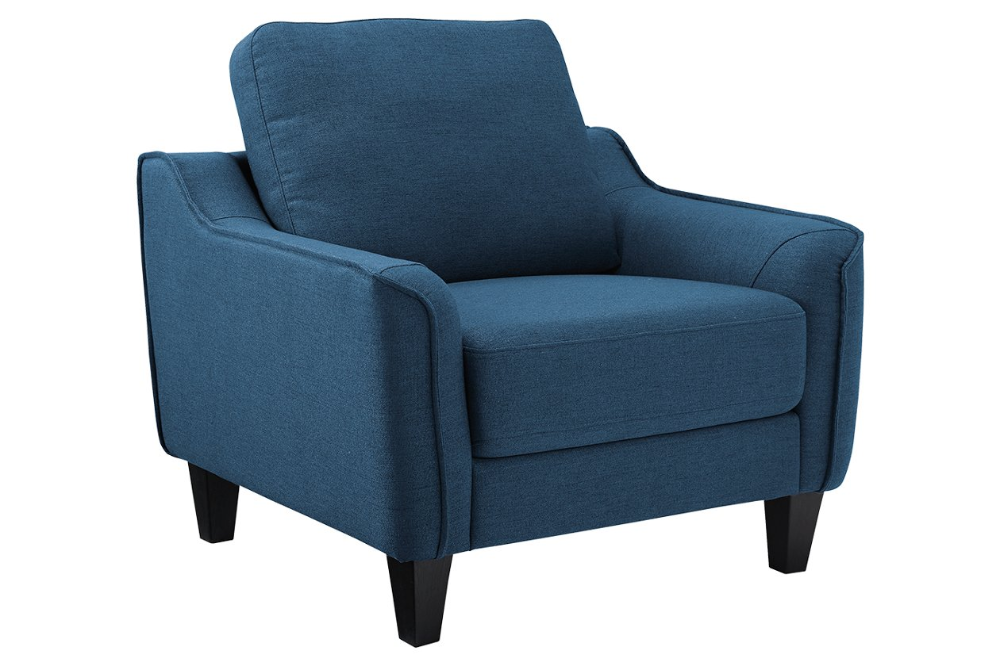 Jarreau Chair In 2020 Upholstered Accent Chairs Ashley Furniture Living Room Blue Accent Chairs