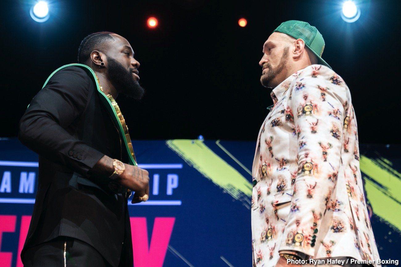 Deontay Wilder vs Tyson Fury 2 live (FoxPPV) Live stream