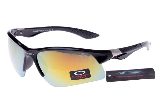 Oakley Crankcase Sunglasses Black Frame Colorful Lens 0151