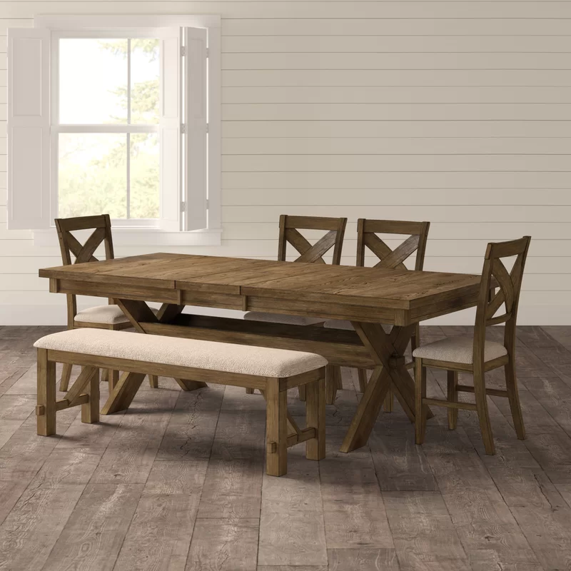 Cornelia 6 Piece Extendable Dining Set In 2020 Dining Set With