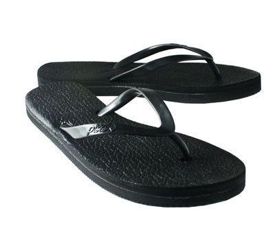 Jelly Flip Flops - Licorice(black) Size 8