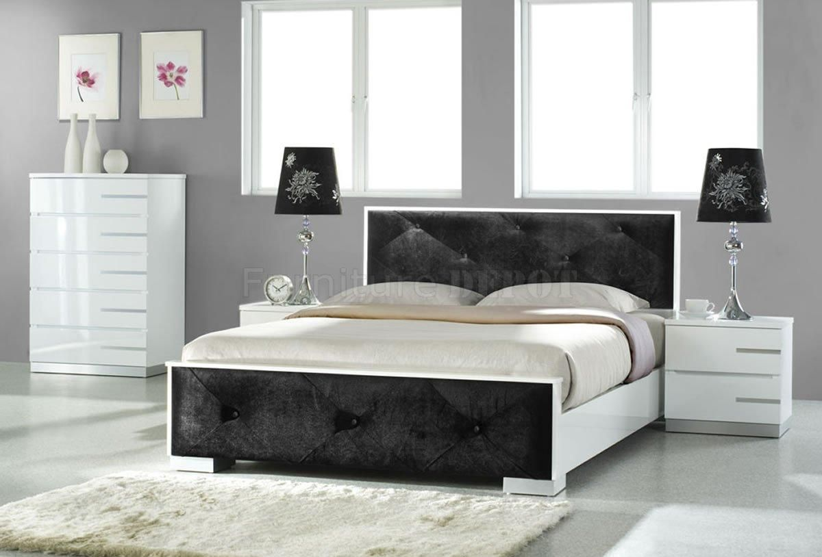 Black White Bedroom Furniture: Modern Bedroom Furniture Black And