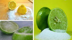 Corta un limón en 4 partes, échale sal y ponlo en la cocina, lo que verás después cambiará tu vida
