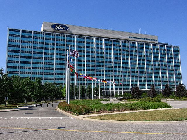 Ford Motor Company World Headquarters With Images Ford Motor