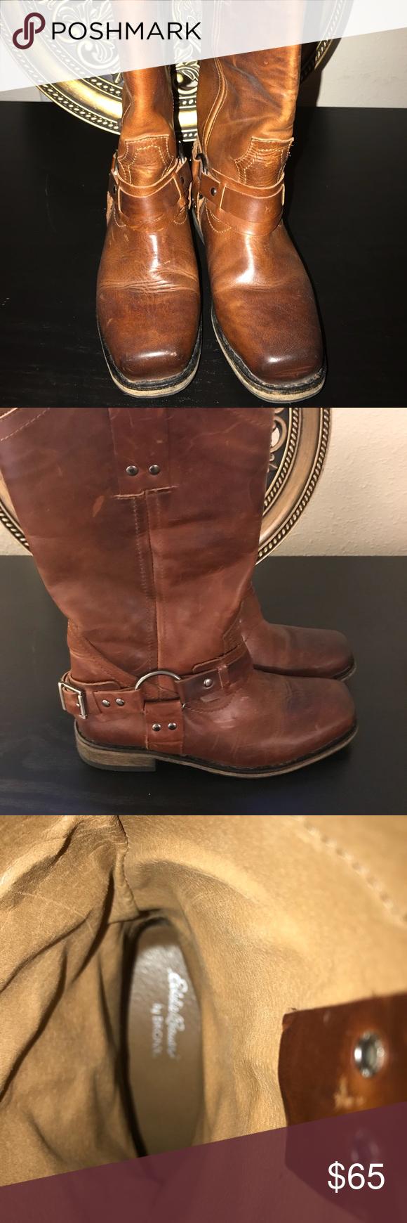 """Eddie Bauer Boots """"Cow Girl"""" Style!! Boots, Eddie bauer"""