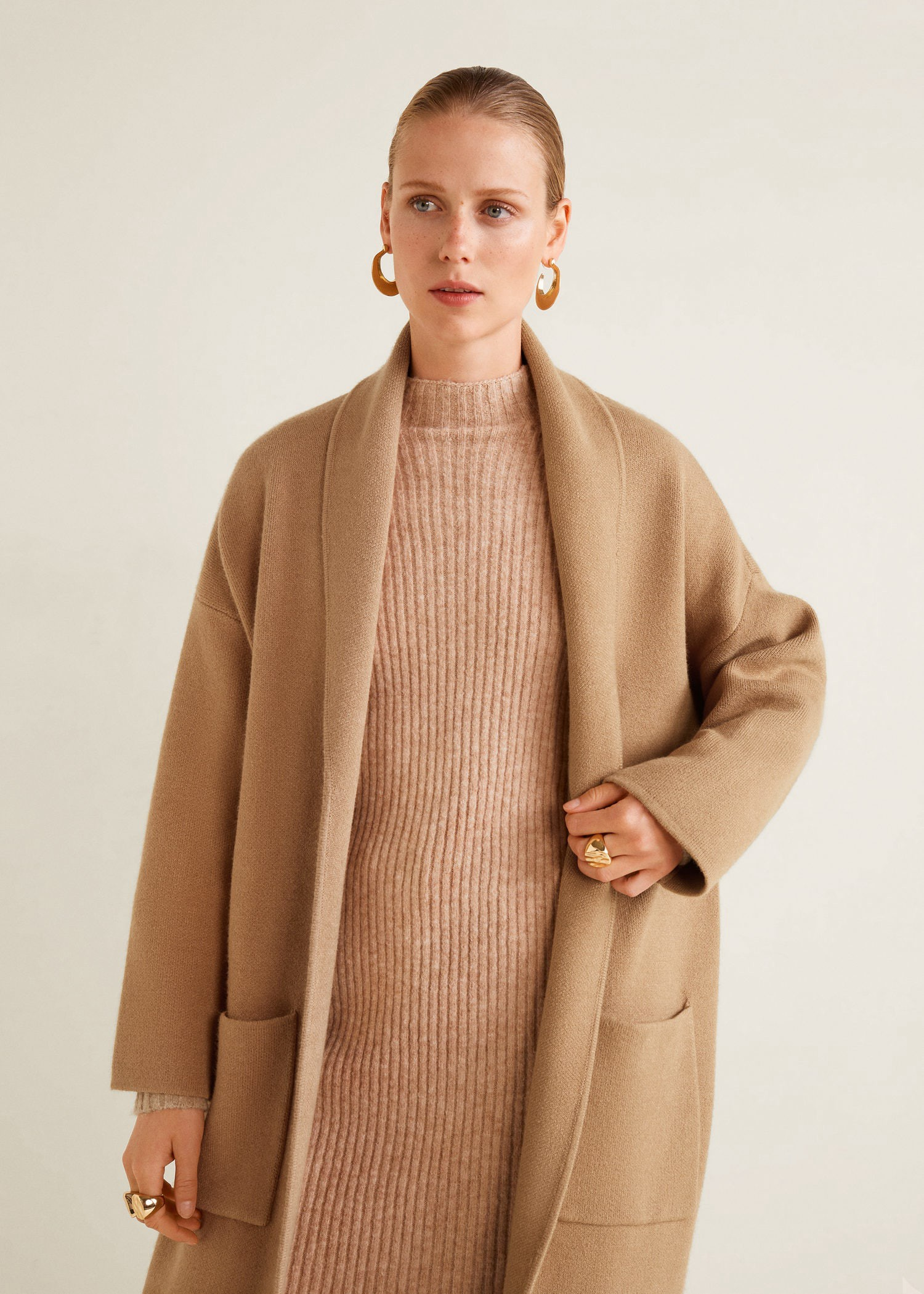 91c4bec3 Mango Straight Pocketed Coat - Xxs-Xs in 2019 | Products | Coat ...