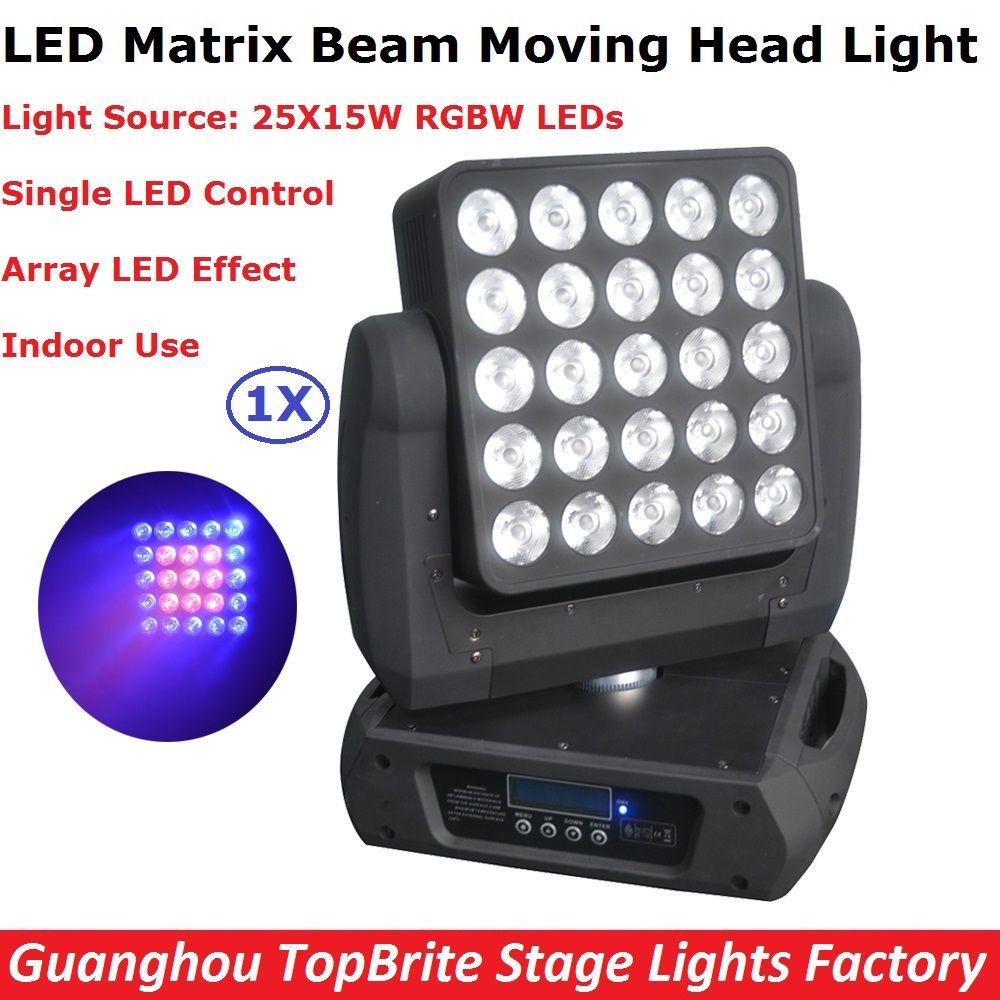 Best Price 25x15w Rgbw Quad Color Led Matrix Beam Moving Head Light Professional Dj Disco Party Events Lighting Equipments Led Matrix Event Lighting Led Color