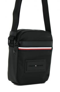 Tommy Hilfiger Umhangetasche Mini Reporter Schwarz Bags More Herren Taschen Herrentasche Umhangetasche