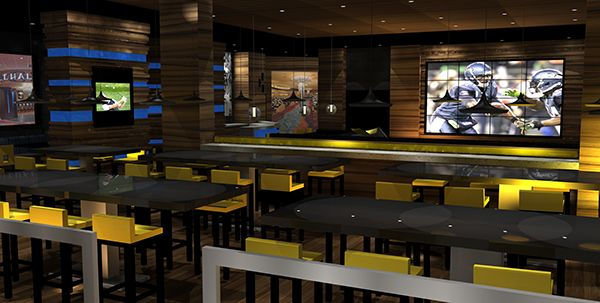 Astounding Sports Bar Interior Design Gallery - Best Ideas ...