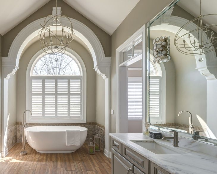 Bathroom Design Trends Vaulted Ceiling Styles  18 Vaulted Ceiling Bathroom Designs