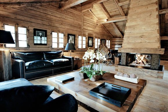 Design federica palacios chalet pinterest chalet style home e cabin interiors - Case colorate interni ...