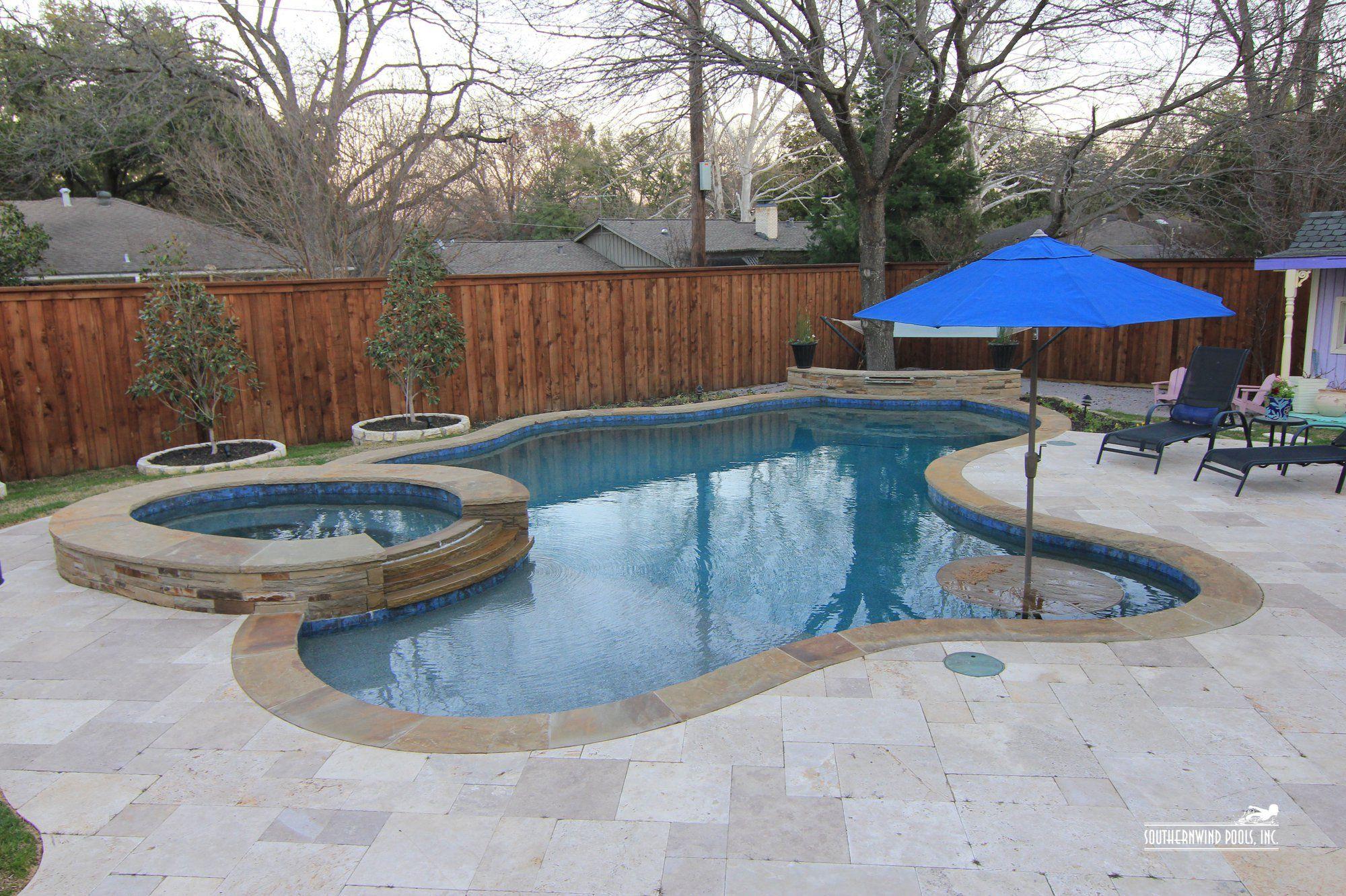 Natural Freeform Pool #123 By Southernwind Pools