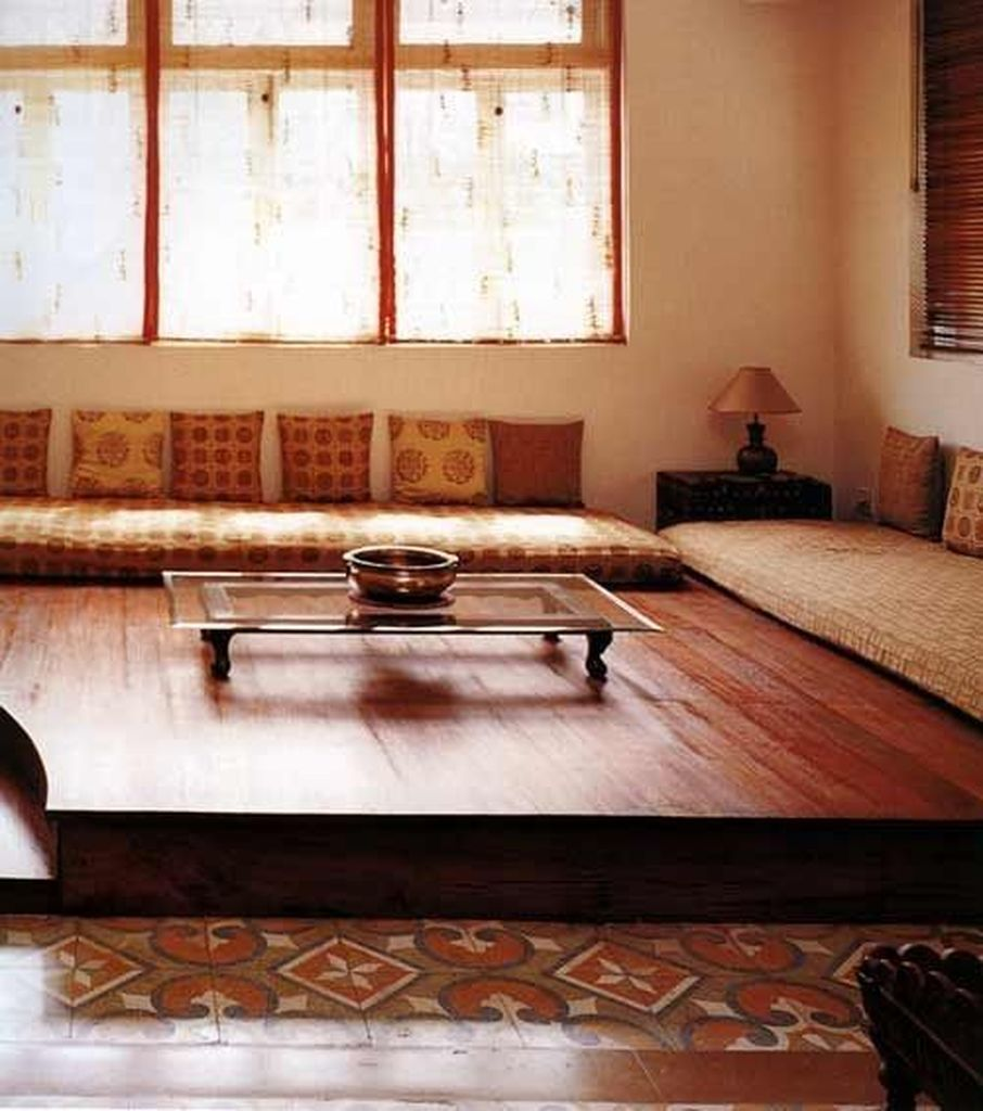 51 Superb Living Room Decoration Ideas Without Sofa In
