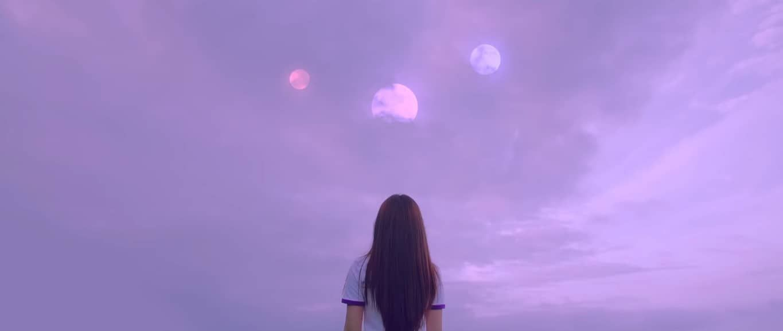 Odd Hyunjin Yeojin Heejin Vivi Loona Haseul Kimlip Jinsoul Choerry Yves Chuu Gowon Oliviahye Asianfanfics Purple Aesthetic Odd Eyes Aesthetic