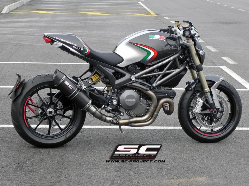 Interesting Paint Scheme On Monster 1100 With Images Ducati