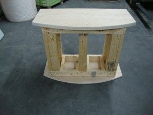 Instructions with pictures on how to build a 72 gallon bowfront aquarium stand - Part 1 - The Base (Old Site)   Man cave   Pinterest   Aquarium stand ... & Instructions with pictures on how to build a 72 gallon bowfront ...