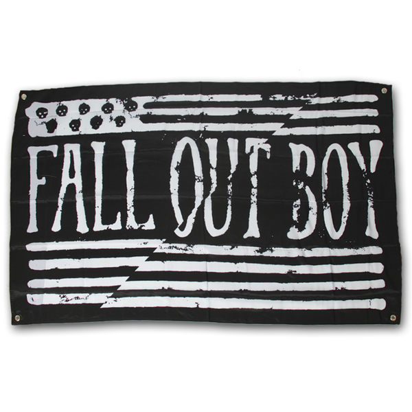 Fall Out Boy Fall Out Boy Wall Flag Boys
