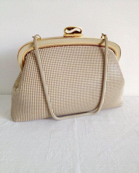 Sterling Mesh Bag Made In Australia Glomesh Style Vintage Handbag Mesh Bag Bags Vintage Handbags