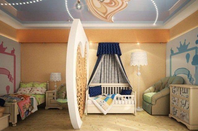 Idée séparation pièce: 32 idées de cloisons chambre enfant
