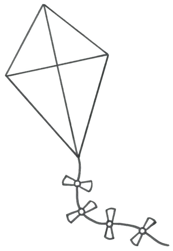 Printable Kite Coloring Pages For Kids Cool2bkids Kids Printable Coloring Pages Coloring Pages For Kids Coloring Pages