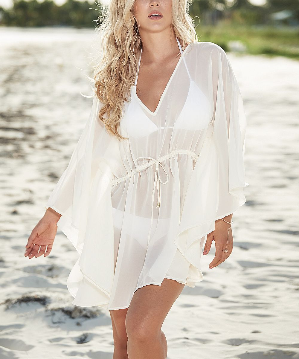 Ivory Swimsuit Coverup