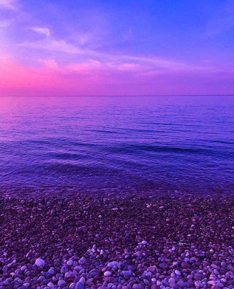 Aesthetic Sky Salt Ocean Lover Earth Alternative Violet Skies Place Sea Https Weheartit Com Violet Aesthetic Purple Sky Black Aesthetic Wallpaper