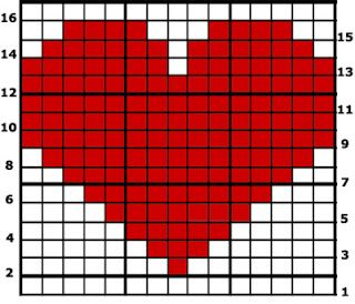 7ce1f485d431 How-To crochet from a graph  this technique is known as Intarsia ...