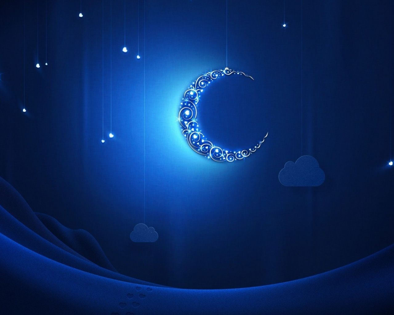 Crescent Moon Wallpaper Wide