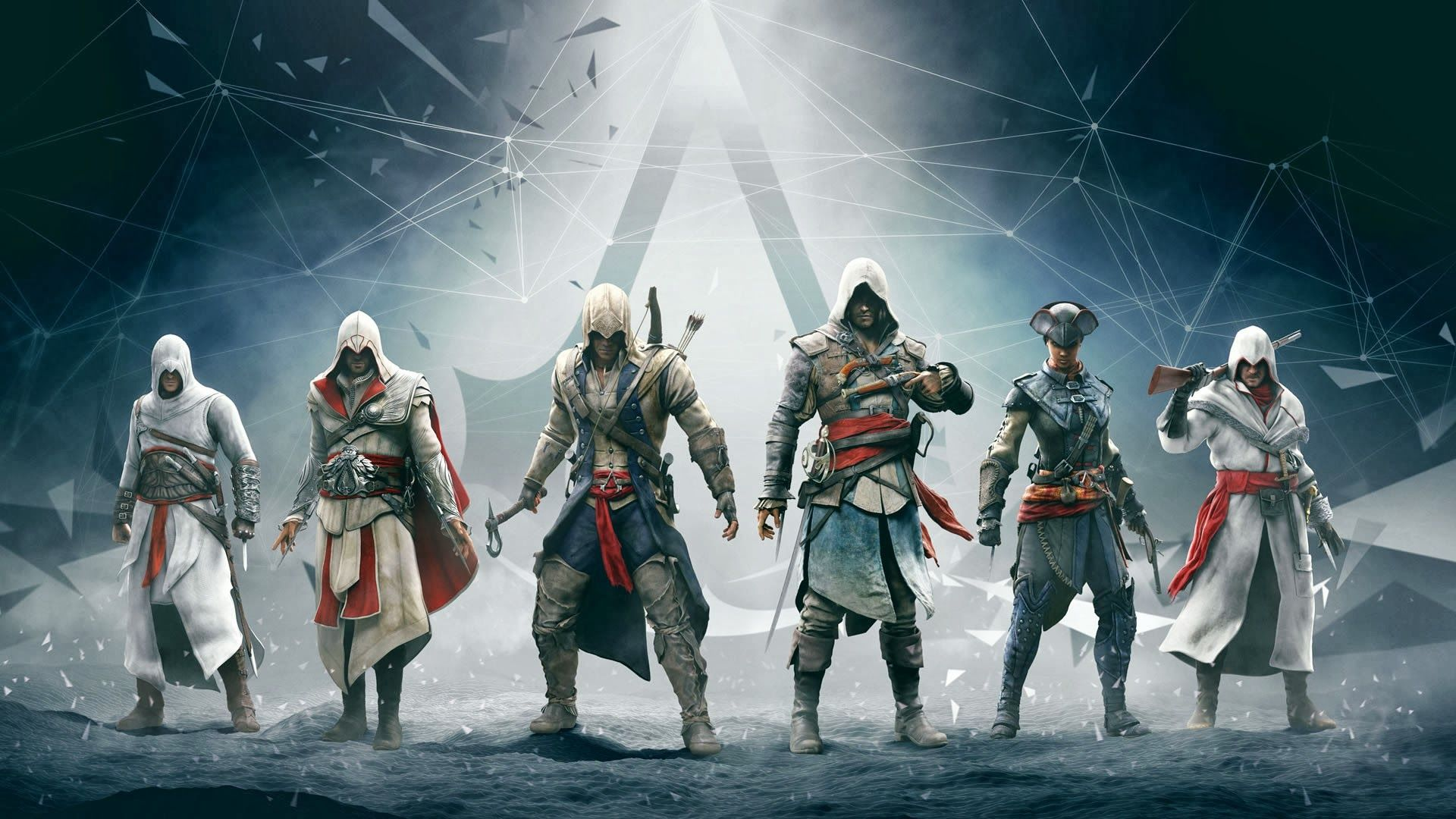 assassins creed altair ezio connor edward hd cool wallpapers