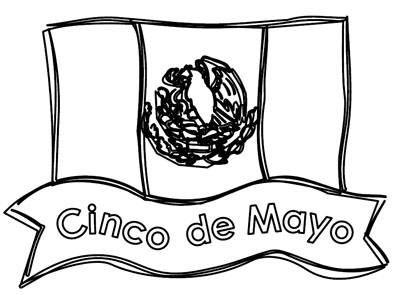 Dibujos Para El 5 De Mayo Cinco De Mayo Paginas Para Colorear Y