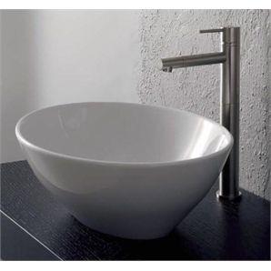 Bathroom Sinks Bunnings bunnings: stein sabana oval vessel basin 410x340x150mm white