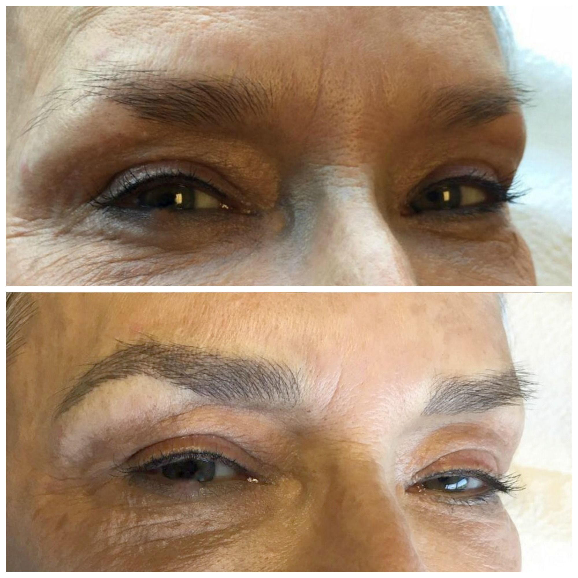 Microblading for brows. By Leslie Sazon, in Austin