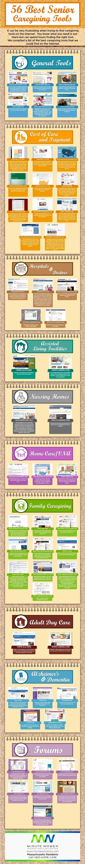 56 Best Senior #Caregiving Tools [Infographic]