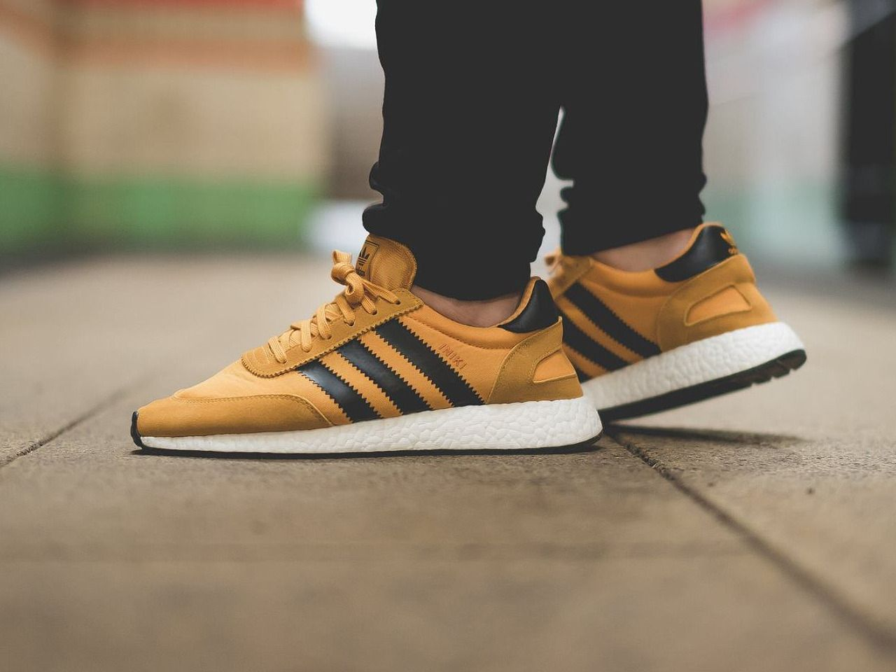 Adidas Iniki Runner Boost - Yellow Core Black - 2017 (by thomas 1986 ... 0b75532f29203