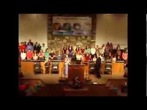 The New Manna Baptist Church Youth Choir: For all He's Done - YouTube