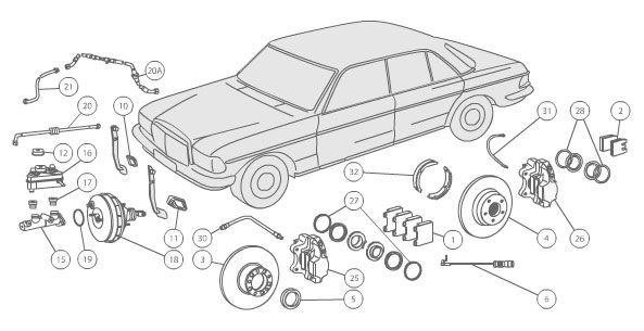 Diagram Search Mercedes Parts and Accessories auto