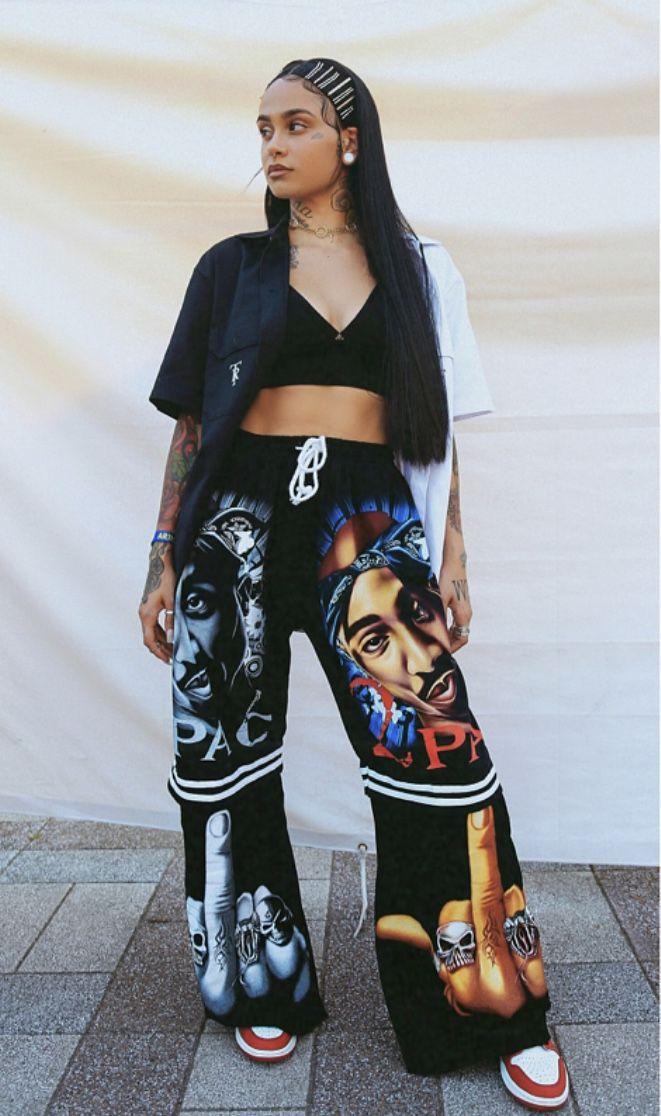 Kehlani Tupac Rnb Streetstyle Concert Hairstyle