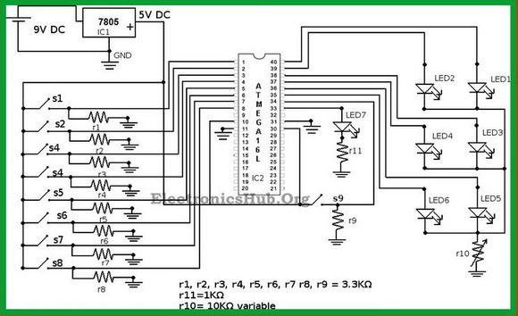 boolean algebra calculator circuit with applications electronic rh pinterest com circuit diagram calculator online logic circuit diagram calculator