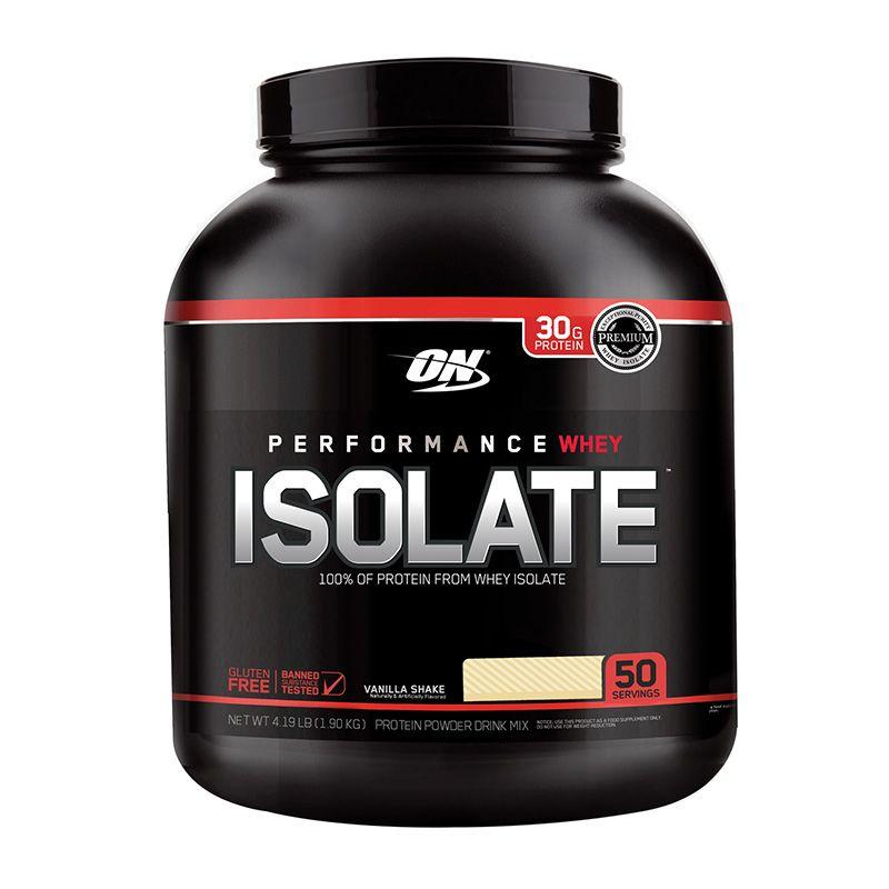 Performance Whey Isolate Proteina Sabor Vainilla 4 5lbs