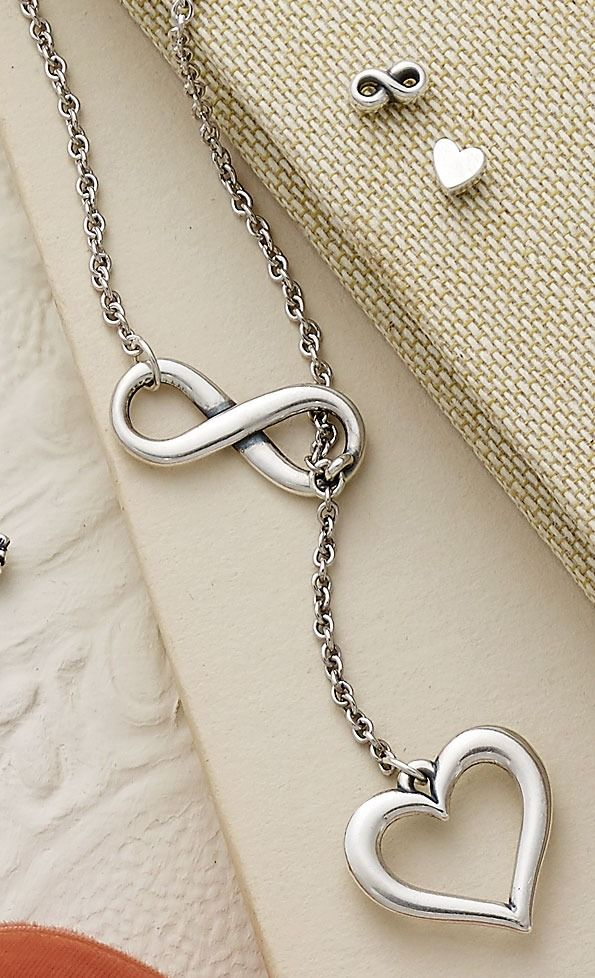 Infinite Love Necklace And Tiny Infinity Heart Ear Posts Jamesavery Star Necklace Gold Infinity Jewelry Star Jewelry