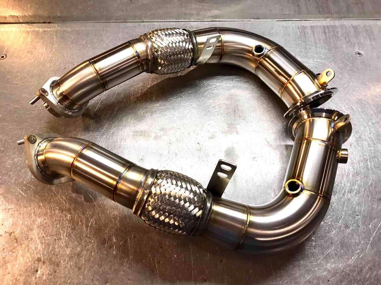 BMW 550i decat downpipe 20102012 (Ready For Installation