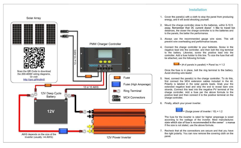 Amazon Com 4pcs Renogy 100 Watt 100w Monocrystalline Photovoltaic Pv Solar Panel Module 12v Battery Charg Diy Solar Panel Solar Panels For Home Solar Panels