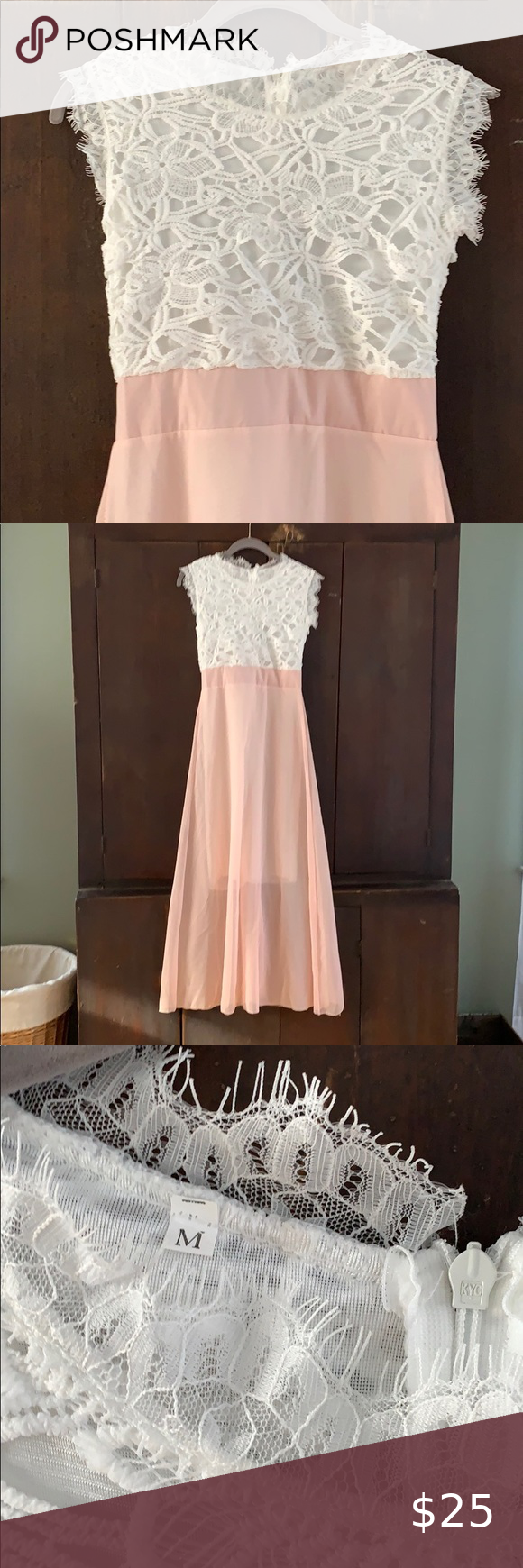 Pink And White Lace Top Dress White Lace Top Dress White Lace Top Lace Top Dress [ 1740 x 580 Pixel ]