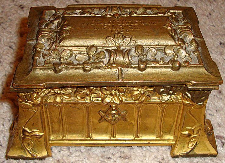 Humboldt Masonic Lodge No 114 Jewelry Box Jewelry Boxes