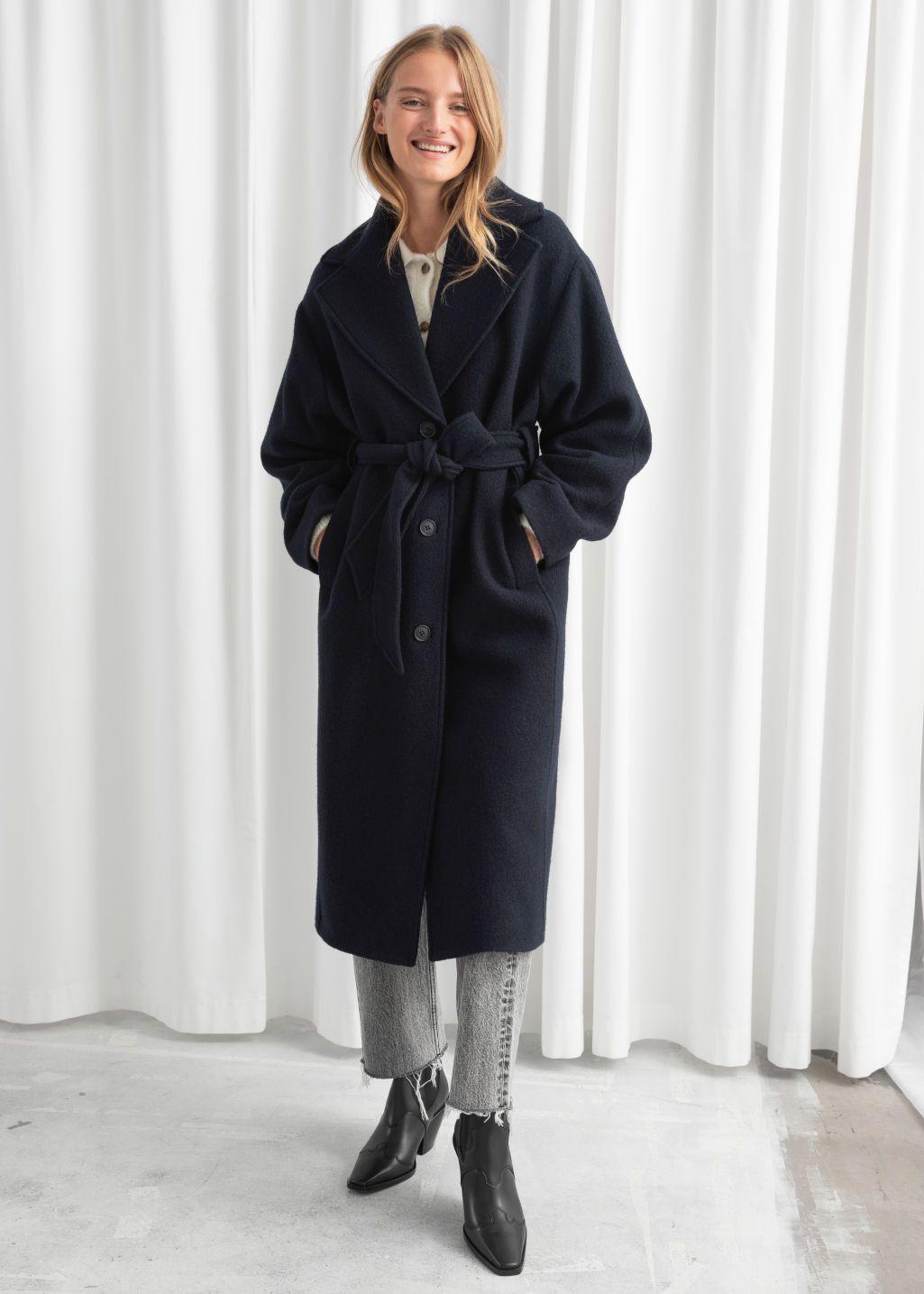 Oversized belted wool coat | Loewe | MATCHESFASHION UK