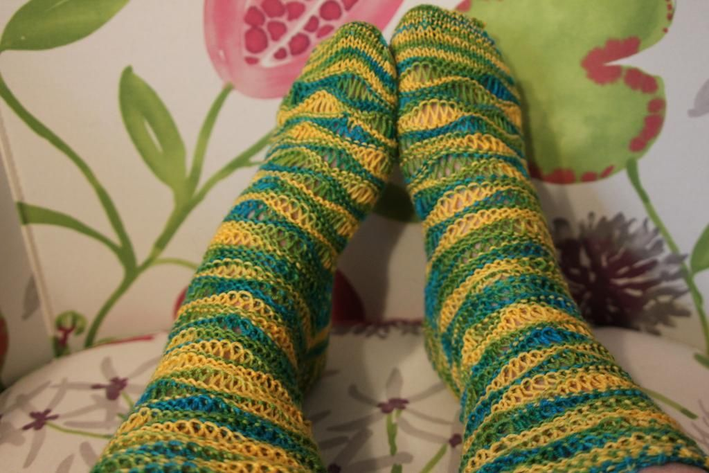 What Crazy Knitted Socks Say About Your Personality Wearing