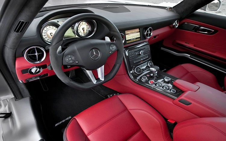 Interior of Mercedes SLS AMG | Cars | Pinterest | Cars, Mercedes SLS ...