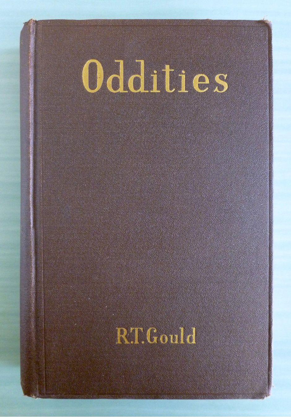 """""""Oddities"""" by R.T. Gould via """"The Monkey's Paw"""" monkeyspaw.com"""