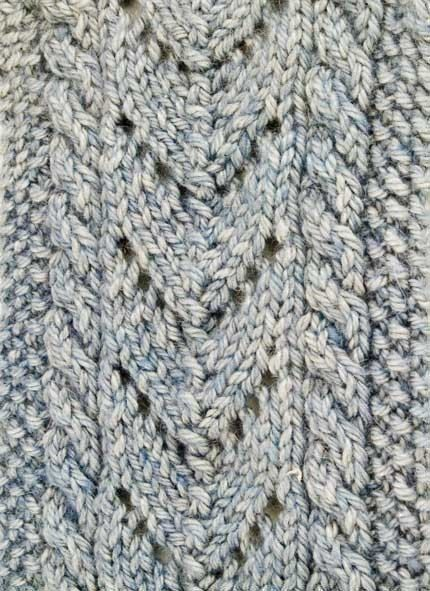 Aran Cable And Lace Scarf Knitting Pattern Pdf Products Lace