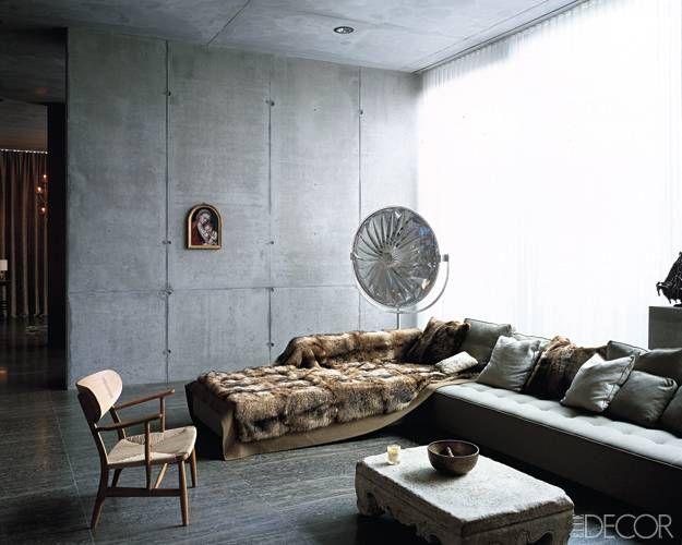 Concrete Thinking Concrete Interiors Interior Interior Design